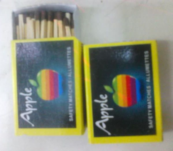 apple matchsticks