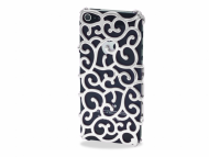 Swiss Cases pre iPhone SE/5S/5 - Glamour Silver