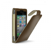 Cygnett LAVISH Leather Case for iPhone 4/4S - brown